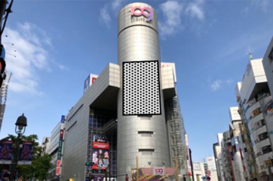SHIBUYA109シリンダー広告