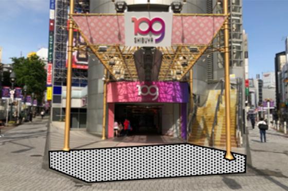 SHIBUYA109店頭イベントスペース