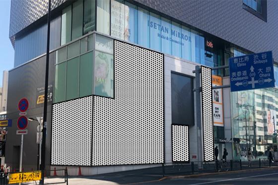 東急プラザ表参道原宿 WILD WALL