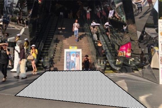 東急プラザ表参道原宿 店頭イベントスペース